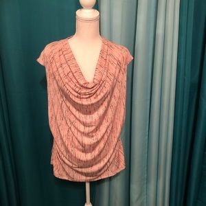 Worthington cowl neck blouse